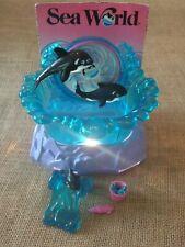 Vintage Kenner Littlest Pet Shop Sea World Splash Shamu Deluxe Playset -Complete