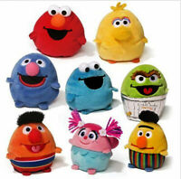 GUND SESAME STREET EGG FRIENDS PLUSH BEAN BAG  MINI ASSORTED BNWT