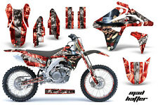 AMR Racing Suzuki RMZ450 Graphics Number Plate Kit Bike Decal Sticker 2007 MH S