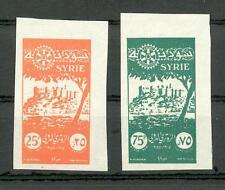 SYRIEN 1955 655/56U PROBEN **(N8024