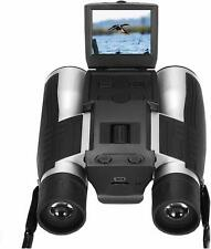 HD 1080P 12x32 Super Clear Digital Binocular Camera DVR Telescope w/2 Inch LCD
