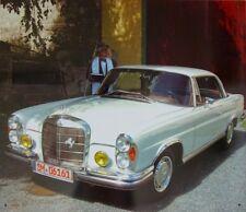 Blechschild Mercedes benz W111 Coupe 220 250 280 300 BENZ N1801 Oldtimer oldie