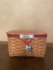 Longaberger 2004 Hostess Appreciation Basket Complete Set New Reduced More