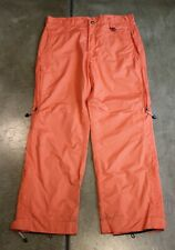 Orange Snowboard Ski Pants from Cold As Ice women's size Large