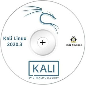 Kali Linux 2020.3 - Run Live or Install PEN Testing/Hacking DVD 600+Tools!