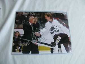 PARTICK ROY 1000TH GAME 1/20/2003 SIGNED/AUTO 8X10 PHOTO W/COA