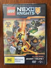 Lego Nexo Knights: Season 1 Volume 1 DVD Region 4 New & Sealed