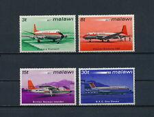 Malawi   182-5  MNH, Aircraft, 1972