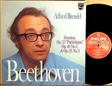 PHILIPS Beethoven ALFRED BRENDEL Piano Sonatas #8, #18 & #19 9500 077