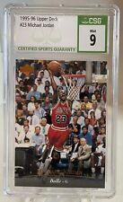 1995-96 Upper Deck UD #23 Michael Jordan Chicago Bulls HOF CSG 9 MINT 🔥🐐
