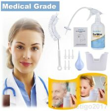 Medical Ear Washer System Ear Cleaning Tool w/5 Tips Ear Wax Remover Syringe Kit