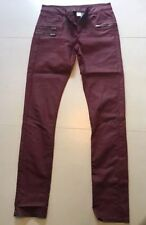 H&M Slim, Skinny, Treggings Leather Trousers for Women
