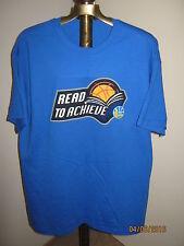 "Golden State Warriors T-Shirt Men's (XL) BLUE NWO ""Read To Achieve"" Ross Stores"