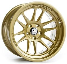 Cosmis Racing XT-206R 18x11 5x114.3 ET8 Gold Rims (Set of 4)