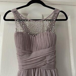 Little Mistress Long Mink Dress Size 8 Bridesmaid, Prom
