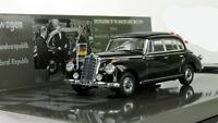 1:43 Minichamps Mercedes Benz 300 B black 1955 Adenauer limousine 436039000