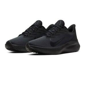 Nike Zoom Winflo 7 Women's CJ0302 002 Black Running Sneakers Shoes Multi Sizes