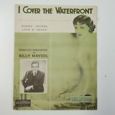piano solo BILLY MAYERL i cover the waterfront , transcription