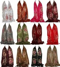 Hijab Floral Scarves and Wraps for Women