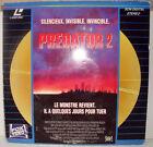 LASER DISC - PREDATOR 2 - Danny GLOVER Gary BUSEY Bill PAXTON