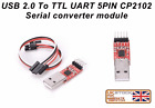 USB 2.0 to TTL Uart 5-Pin CP2102 Module Serial Converter with 5-pin Dupont cable
