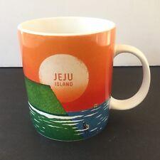 NEW  Starbucks Seoul Korea Island of JEJU rare 16 oz mug 2014 release