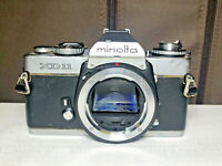 GMinolta XD-11 35MM Vintage Camera and Leather Case
