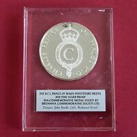 PRINCE OF WALES INVESTITURE 44mm BCS .999 FINE SILVER PROOF MEDAL
