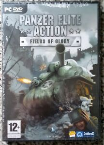 PANZER ELITE ACTION FIELDS OF GLORY PC DVD-ROM WWII GAME brand new & sealed UK
