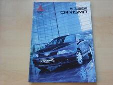 53960) Mitsubishi Carisma Prospekt 09/2001