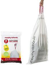 Morphy Richards Lemon Scented Bin Liners 42/50 L - White Pack of 20