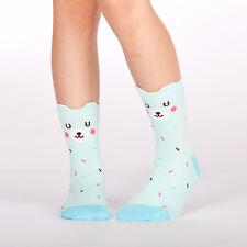 Sock It To Me Junior Crew Socks - Bearly Sprinkled - Age: 7-10