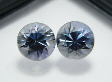 Natural Certified Round 11 CT Color Change Pair Alexandrite Loose Gemstone