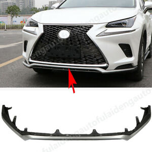 Sport Style  Front Bumper Lip Spoiler body KIT For Lexus NX200t NX300h 2018-2020
