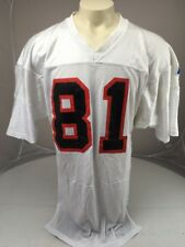 Vtg Russell Athletic Tampa Bay Buccaneers White #81 mesh football jersey 46 USA