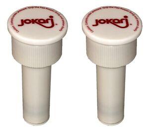 Jokari 05002- Fizz Keeper Pump Cap 2 Litre Bottles - Keeps Drinks Fizzy - 2 Pack