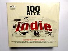 100 HITS  -  INDIE  - 100 ESSENTIAL INDIE CLASSICS - 5 CD 2009 NUOVO E SIGILLATO