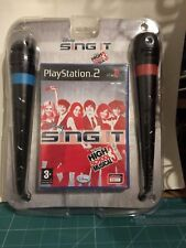 Disney Singit High School Musical 3+2 Microfonos PS2 Pal  PlayStation 2 VER FOTO