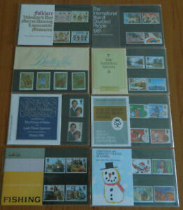GB 1981 year set of 8 Presentation Pack VGC stamps Free postage!!