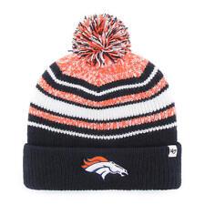 Denver Broncos 47 Brand Knit Hat Beanie Bubbler Kid