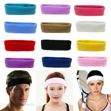 Women Men Sports Yoga Gym Stretch Headband Head Band Hair Band Sweat Sweatband