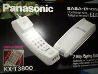 EASA - PHONE Cordlees phone Panasonic KX-T3800