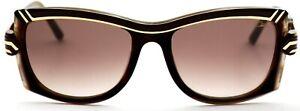Cazal Damen Sonnenbrille CZ8016 002 59mm braun gold Z3 5