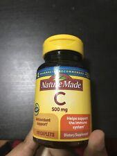 Nature Made Vitamin C 500 mg 100 Cplts EXP 05/24