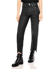 Sandro Paris Theatre Jeans In Black Size 40, 12 Uk BNWT