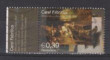 NVPH Netherlands 2287 used Mercurius en Agaluros DUTCH PAINTER FABRITIUS 2004