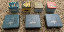 LOT OF 7 FOSSIL BRAND WATCH / WALLET TINS