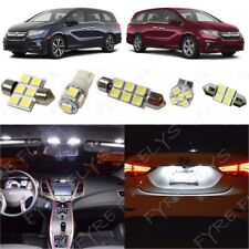 17x White LED Interior map dome lights package Kit 2018 Honda Odyssey +Tool HO4W
