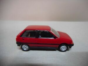 CITROEN AX 1986 RED NOREV 3 INCHES 1/64