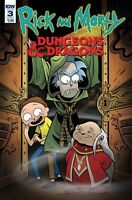 RICK and  MORTY VS DUNGEONS & DRAGONS #3 CVR A